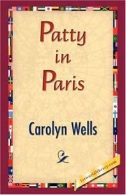 Cover of: Patty in Paris