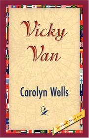 Cover of: Vicky Van | Carolyn Wells