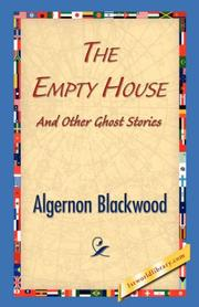 Cover of: The Empty House and Other Ghost Stories