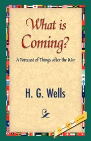 Cover of: What is coming?: A European forecast