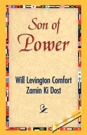 Cover of: Son of Power | Will Levington Comfort