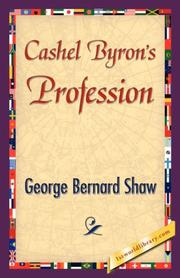 Cover of: Cashel Byron