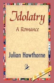 Cover of: Idolatry: A Romance