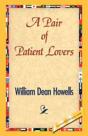 Cover of: A Pair of Patient Lovers