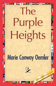 Cover of: The Purple Heights | Marie Conway Oemler