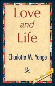 Cover of: Love and Life