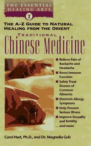Cover of: Traditional Chinese Medicine | Carol A. Hart