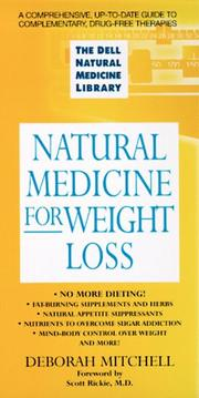 Cover of: Natural medicine for weight loss