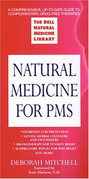 Cover of: Natural medicine for PMS