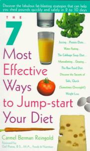 Cover of: The 7 most effective ways to jump-start your diet