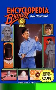 Cover of: ENCYCLOPEDIA BROWN - BOY DETECTIVE (America's Sherlock Holmes in Sneakers, No. 1)