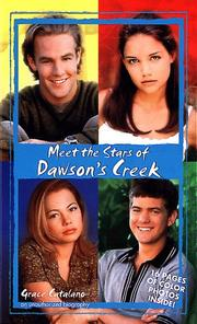 Cover of: Meet the stars of Dawson's Creek