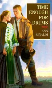 Cover of: Time Enough for Drums | Ann Rinaldi