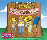 Cover of: The Trivial Simpsons 2004 366-Day Box Calendar