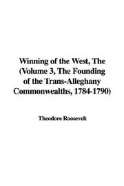 Cover of: The Winning Of The West