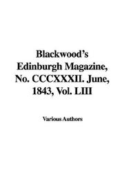Cover of: Blackwood