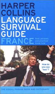 Cover of: HarperCollins Language Survival Guide: France