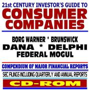 21st Century Investors Guide to Consumer Companies by United States