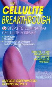 Cover of: The cellulite breakthrough