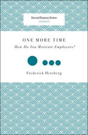 One more time by Frederick Herzberg