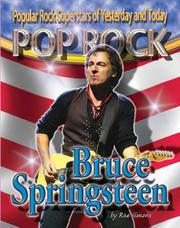 Cover of: Bruce Springsteen (Pop Rock, Popular Rock Superstars of Yesterday and Today) | Rae Simons