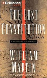 Cover of: The Lost Constitution | William Martin
