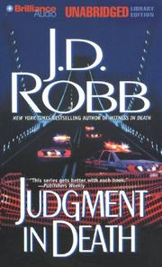 Cover of: Judgment in Death (In Death, No. 11)