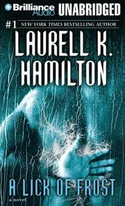 Cover of: Lick of Frost, A (Meredith Gentry) | Laurell K. Hamilton