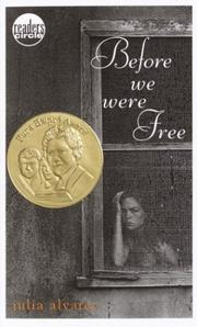 Cover of: Before We Were Free (Readers Circle)