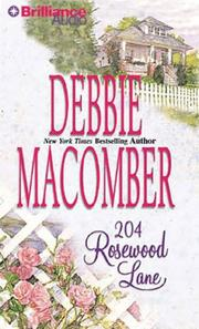 Cover of: 204 Rosewood Lane (Cedar Cove)