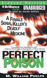 Cover of: Perfect Poison | M. William Phelps