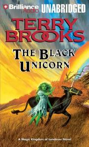 Cover of: Black Unicorn, The (Landover) | Terry Brooks