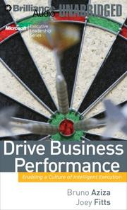 Cover of: Drive Business Performance | Bruno Aziza