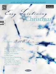 Cover of: Easy Listening Christmas | Bill Wolaver