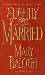 Cover of: Slightly married