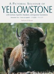 Cover of: Pictorial Souviner of Yellowstone, A