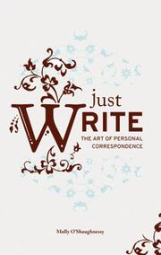 Cover of: Just Write | Molly O