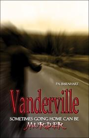 Cover of: Vanderville | P.A. Barnhart