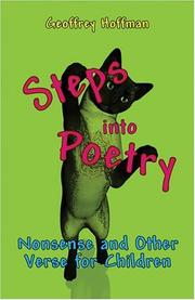 Cover of: Steps into Poetry | Geoffrey Hoffman