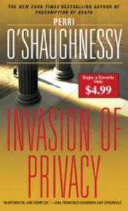 Cover of: Invasion of Privacy | Perri O
