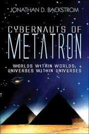 Cover of: Cybernauts of Metatron | Jonathan D. Backstrom