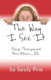 Cover of: The Way I See It | Sandy Pina