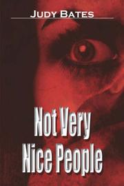 Cover of: Not Very Nice People