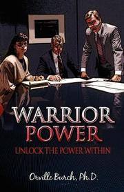 Cover of: Warrior Power | Orville Burch Ph.D.
