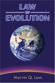 Cover of: Law of Evolution