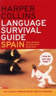 Cover of: HarperCollins Language Survival Guide: Spain