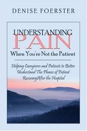Cover of: Understanding Pain When You