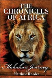 Cover of: The Chronicles of Africa | Matthew Rhodes