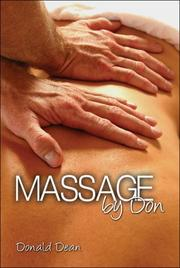 Cover of: Massage by Don | Donald Dean