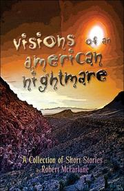 Cover of: Visions of an American Nightmare